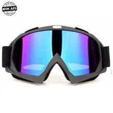 Ski Motorcycle Glasses Motocross Riding Windproof prescription Anti-UV Motorbike off-road Goggles
