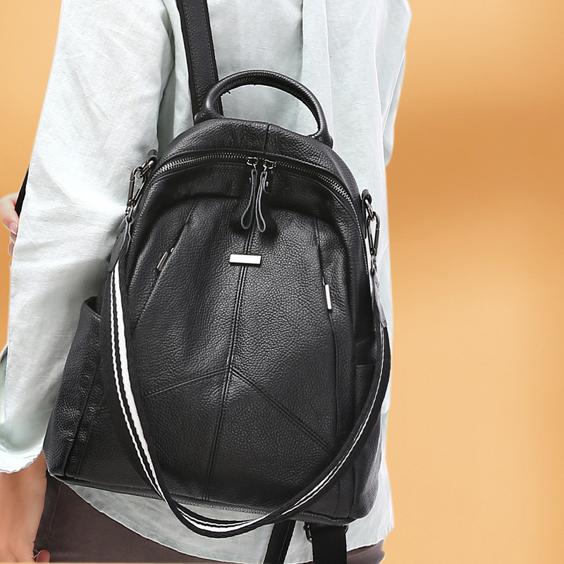 Backpack Women 2019 New Soft Real Leather Backpack Fashion School Bags for Teenage Girls Small Backpack MochilaBackpack Women 2019 New Soft Real Leather Backpack Fashion School Bags for Teenage Girls Small Backpack Mochila