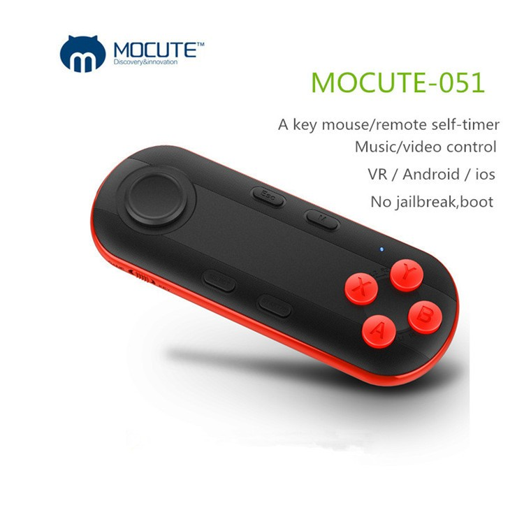 Bluetooth 3.0 Remote Controller Wireless Shutter Game Gamepad For 3D VR Glases Shinecon TV Box iPhone IOS Samsung Android(1)