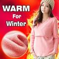 Suéter de enfermería Tops de Maternidad lactancia ropa de Enfermería otoño e invierno Tops de Manga Larga para Las Mujeres Embarazadas