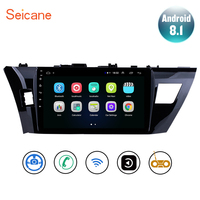 Seicane 10.1 Inch GPS Navi For 2013 2014 2015 Toyota Corolla Android 8.1 2Din Car Stereo Radio Multimedia Player Head Unit WIFI