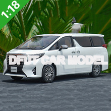 1:18 scale Alloy Toy Alphard Car Model Of Childrens Toy Cars Original Authorized Authentic Kids Toys