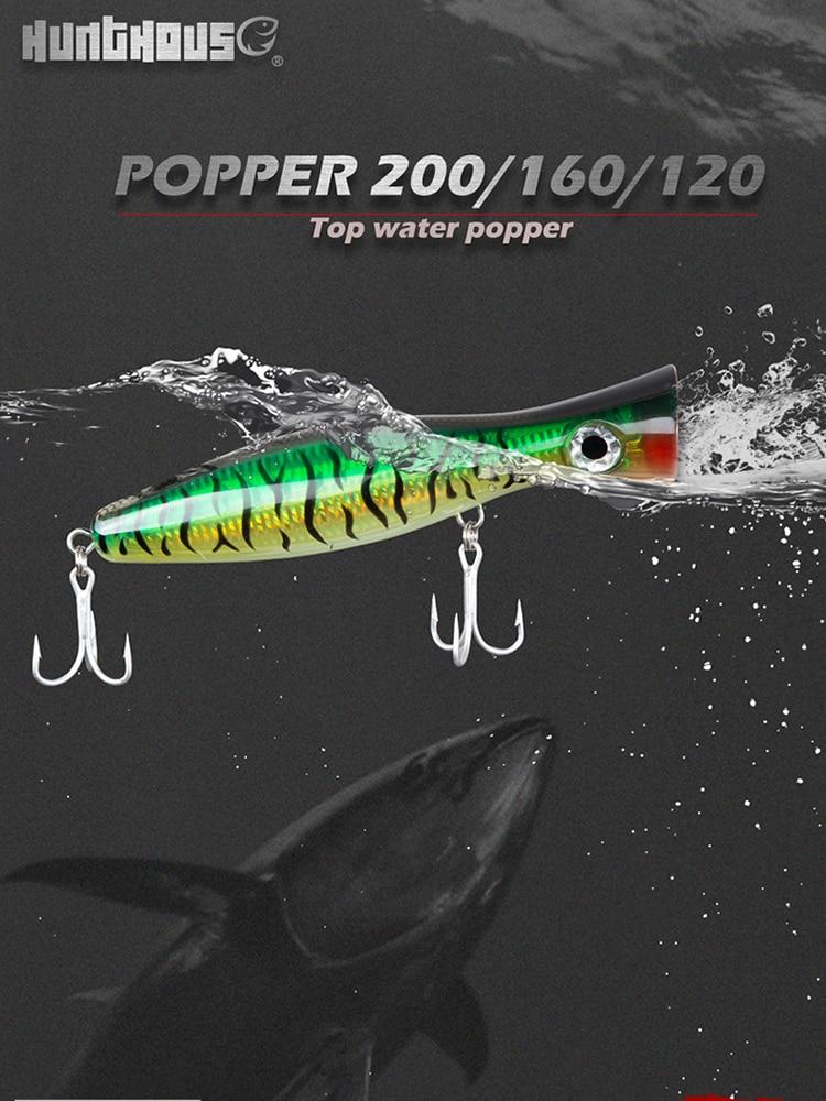 Yo-Zuri F178-W24 Surface Bull GT Topwater Popper Fishing Bait Lure 200mm 100g