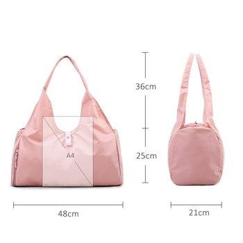 Scione Yoga Mat Bag Gym Fitness Bags for Women Men Training Sac De Sport Travel Gymtas Nylon Outdoor Sports Tas Sporttas XA441WA 5