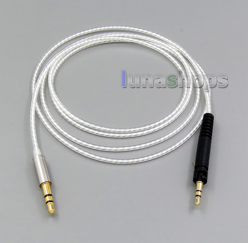 Replacement OCC Silver Plated Cable For Sennheiser HD598 HD558 HD518 Headphone Headset Earphone LN006242