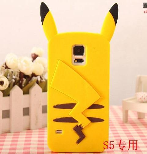 Galaxy S5 Rubber Pikachu Phone Case