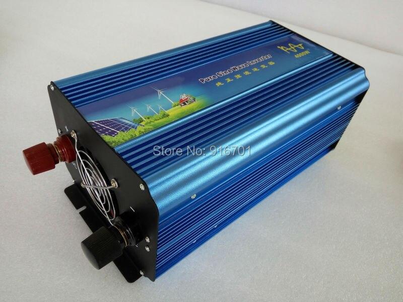 Home power inverter/ dc-ac power inverter/ pure sine wave solar inverter 12v to 230v 4000w