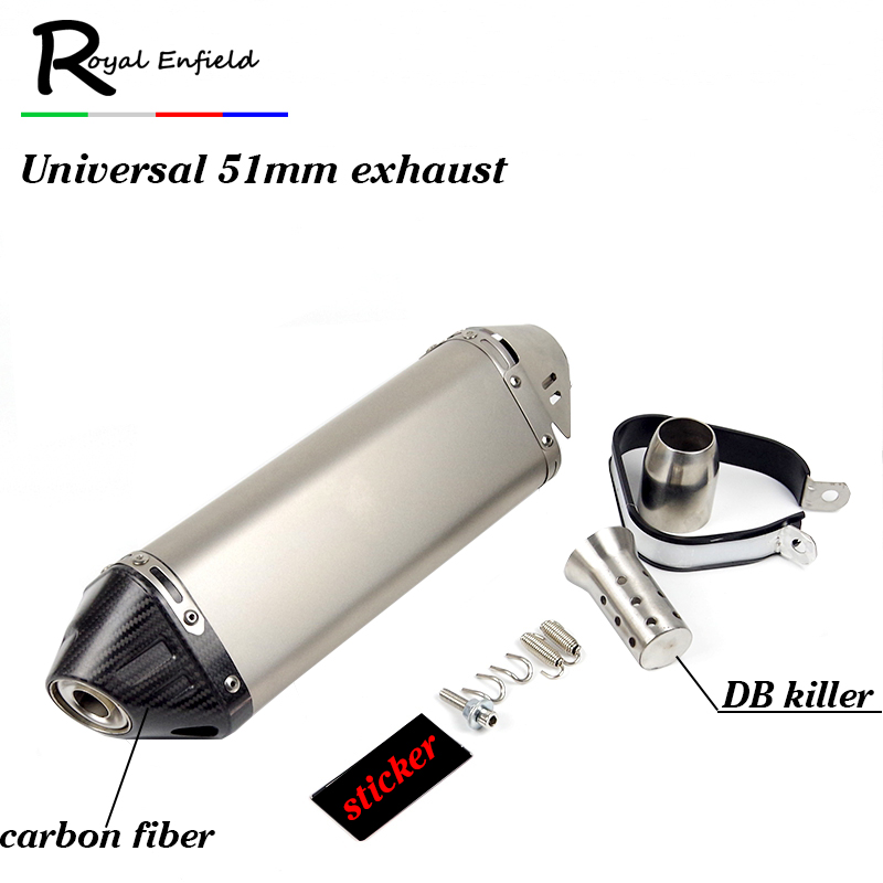 Motorcycle for Yoshimura Exhaust Muffler with DB killer Echappement Motor For Kawasaki for Yamaha for Honda for KTM z800 z1000