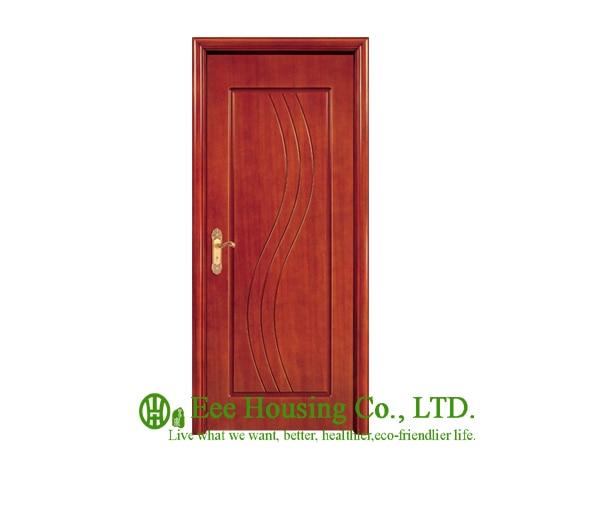 40mm Thickness Timber Veneer Door For Apartment Swing Type Door