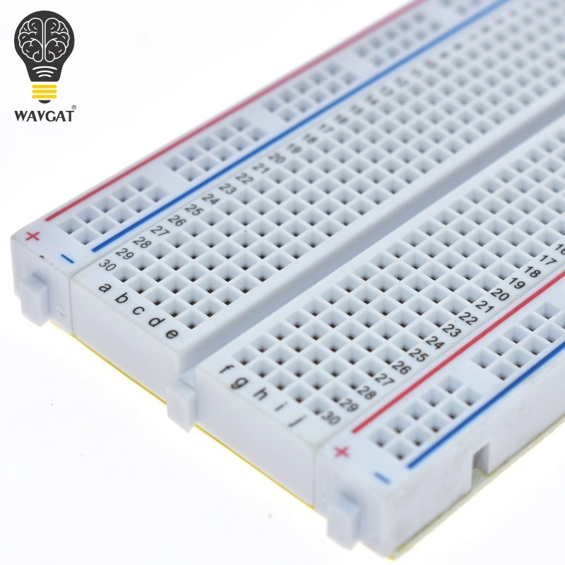 Electronic Components & Supplies Active Components Flight Tracker Mini Prototype Breadboard Clear Crystal 400 Tie Point Solderless Modular Board