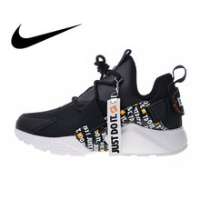 big sale ef4b8 3442e Original Authentic Nike Air Huarache City Low Prm Women s Running Shoes  Sport Outdoor Sneakers Designer Athletic