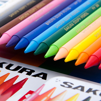 30 Colors Round Shape Painting Erasable Crayons Soft for Artist Students Drawing Pen School Stationery Art Supplies Wax Crayon