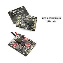 1pcs Matek multiaxial distributor plate PCB Dual BEC 5V 12V synchronous rectification 3A upgrade