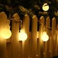 40 LED de La Batería Operada Globe Luces de Cadena, Blanco cálido, Mini Calendario Ronda Bola Luces de la Secuencia para la Decoración Interior y Exterior