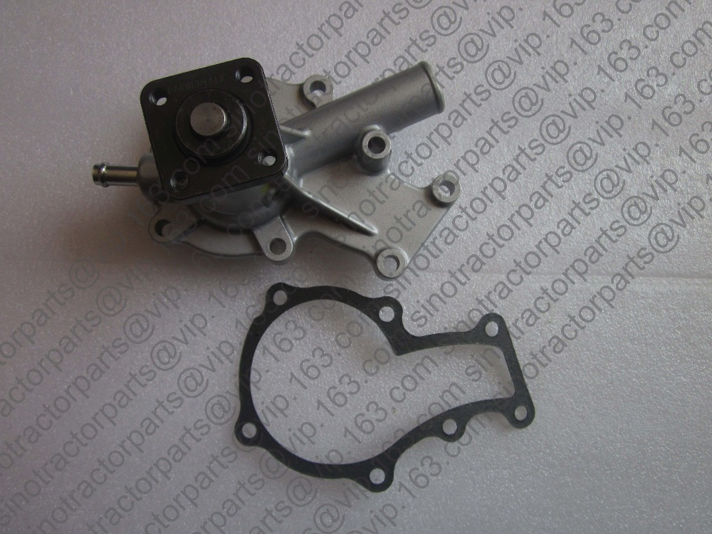 Kubota water pump with reference number: R25-13566-00 19883-73030 kubota water pump with gasket reference 15321 73032