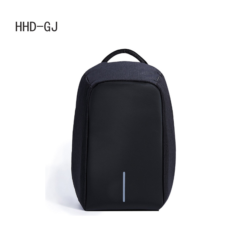 HHD-GJ 17 inch Waterproof Men Backpack USB Charging College Students Bag Laptop Backpack For 13.3 to 17.3 inch school bag