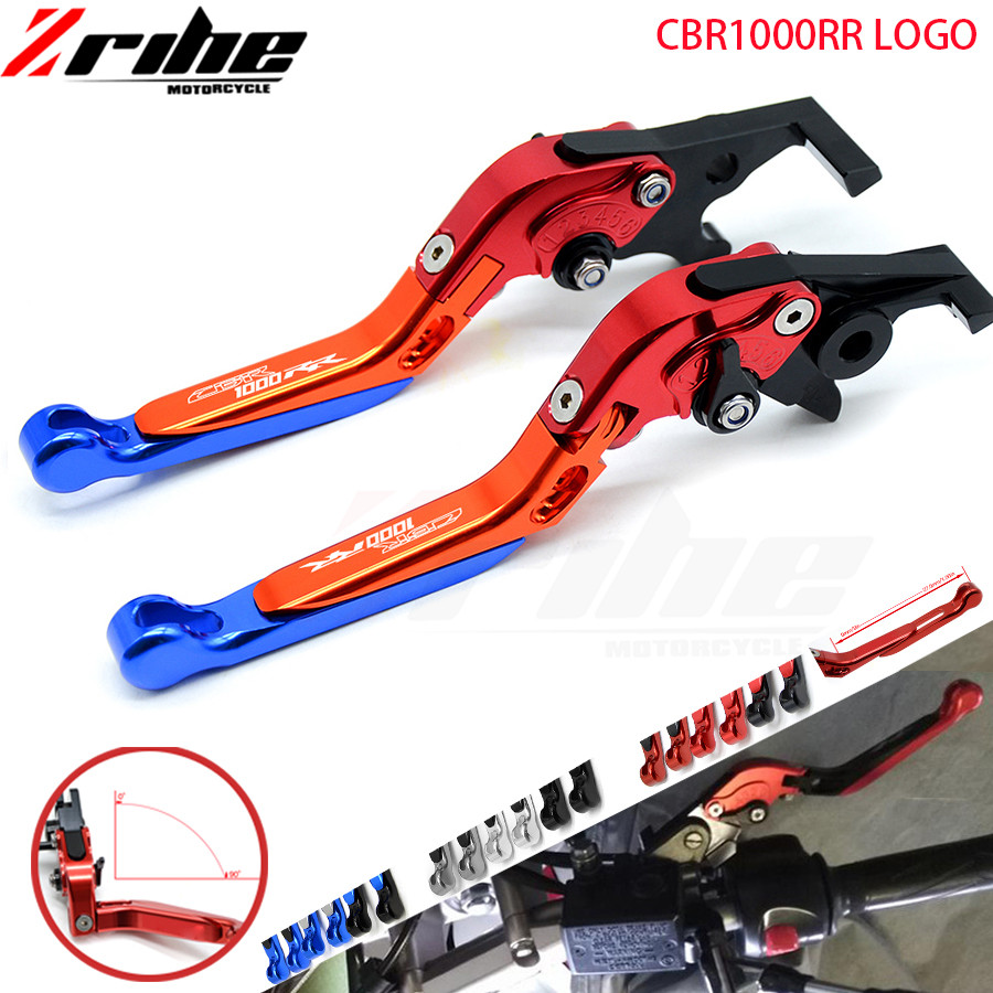 For Honda CBR1000RR CBR 1000 RR 1000RR/FIREBLADE 2008-2016 2009 2010 2011 Motorcycle CNC Foldable Extendable Brake Clutch Lever