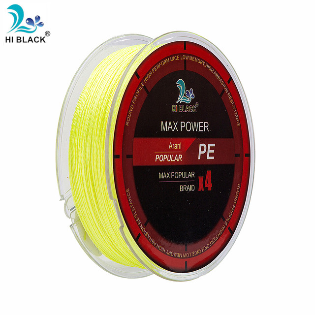 1PC 100m PE Multi-filament Rope Cord  4 Strands Fishing Lines Fishing Wire for All Fishing Braided Fishing Line