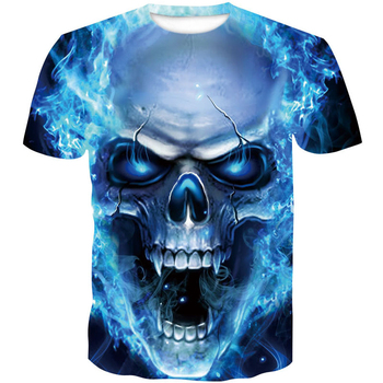 one piece menswear 2019 skull 3D T Shirt Summer Mens Fashion Tops Male Print Men Women brand casual men's shirt Anime T-Shirts