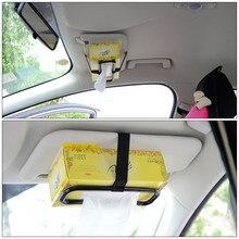 Automobile Interior Accessories Car sun visor chair back tissue box cover Car hanging tissue box holder Car ornaments Vehicle