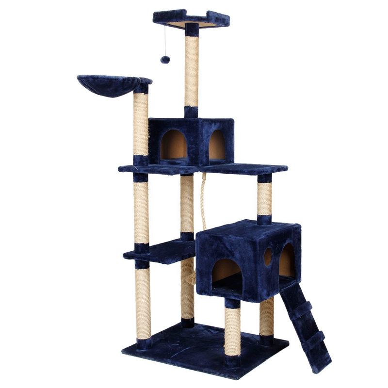 us fast shipping cat furniture h 182 new design kitten house climbing frame scratching post cat. Black Bedroom Furniture Sets. Home Design Ideas