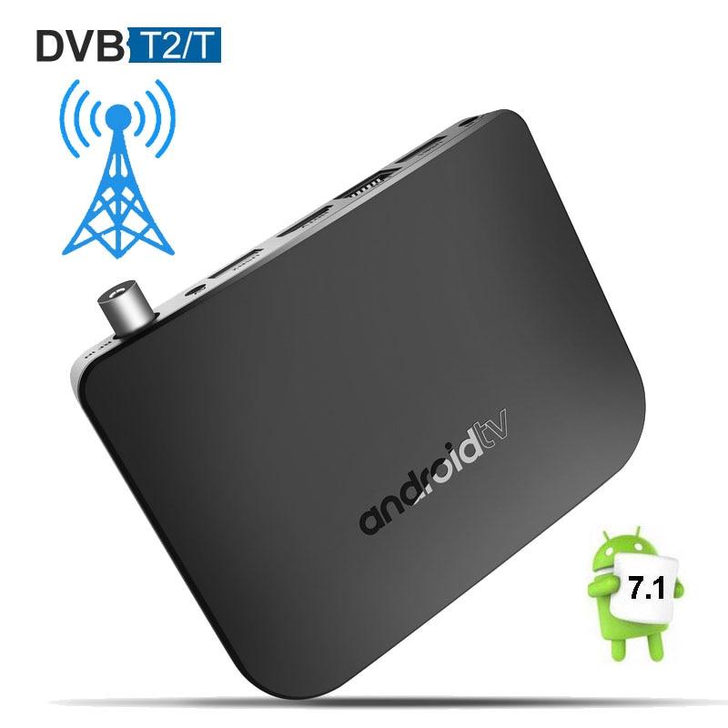 все цены на DVB T2 TV Box Android 7.1 Mecool M8S Plus DVB T2 Amlogic S905D Quad Core 1GB 8GB Smart Mini PC Wifi 4K Media Player Android7.1 онлайн