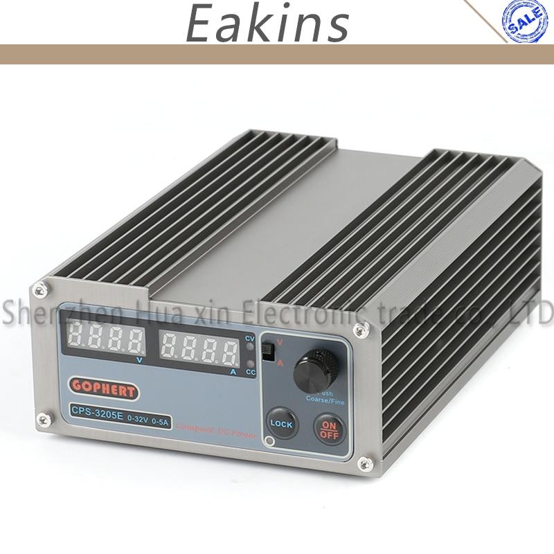 Freeshipping New Arrivals precision Digital Adjustable MINI DC Power Supply OVP/OCP/OTP 32V 5A 30V 110V-230V 0.01V/0.001A EU
