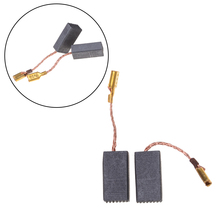 цена на 10PCS Graphite Copper Motor Carbon Brushes Set Tight Copper Wire for Electric Hammer/Drill Angle Grindern 15*8*5mm