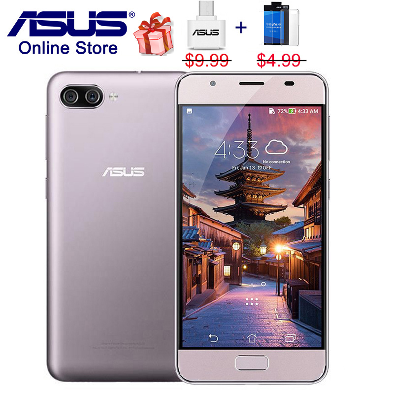 Hot ASUS ZenFone 4 Max X00KD, Pegasus 4A, HD ZB500TL, 4G LTE Mobile Phone, 5.0 inch, 3GB RAM 32GB ROM, Triple Cameras Smartphone