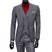 2016 New Business High Quality Brand Clothing Men S Suit Casual Korean Style Slim Fit Blazer
