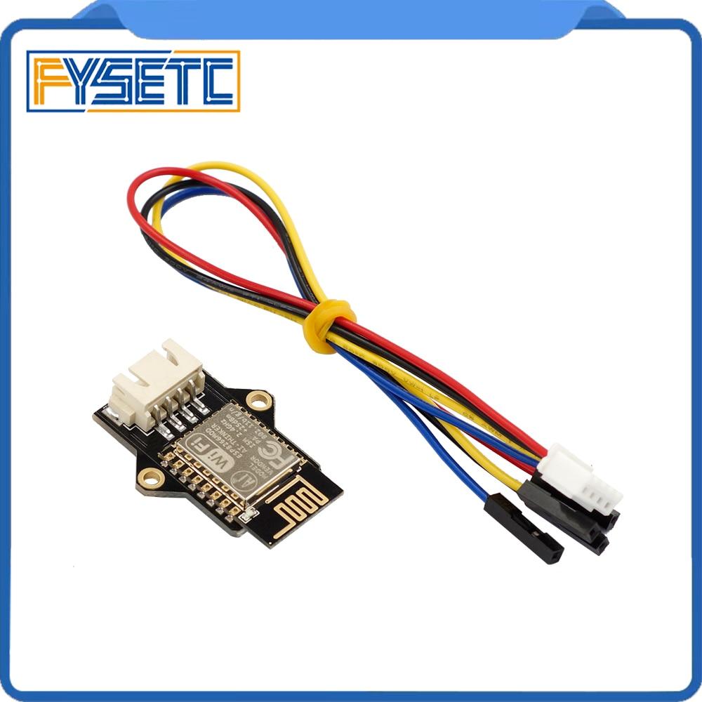 ESP8266 WIFI Extensible Module Remote Control ESP3D For 3D Printer Board Connect AP Mode Client Station Mode VS TFT-WIFI