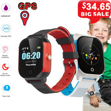 FA23 Smart Watch Antil-lost Kids Smartwatch IP67 Waterproof GPS LBS SOS Tracker Baby Wristwatch Remote Monitor Kids Smartwatch(China)