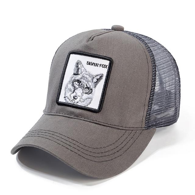 High Quality 12 Styles Animals Baseball Cap Cotton Breathable Mesh Snapback Caps Sun Hat For Women Men Bone Hip Hop Dad Hat 2