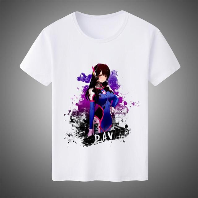 Kids Overwatch sombra T Shirt Blanc