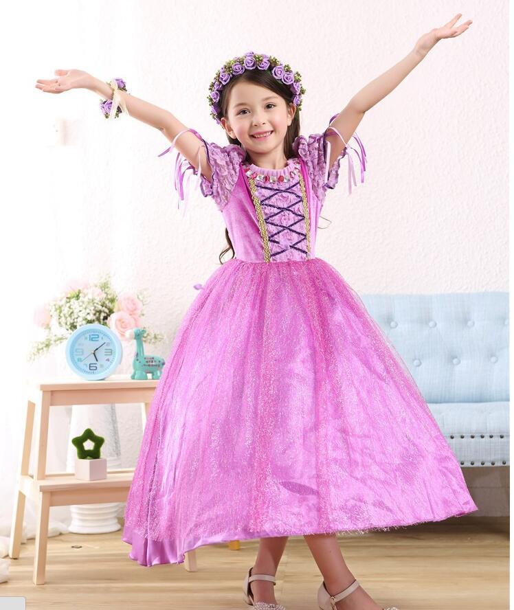 Hermosa Traje De Vestido De Novia Rapunzel Friso - Colección del ...