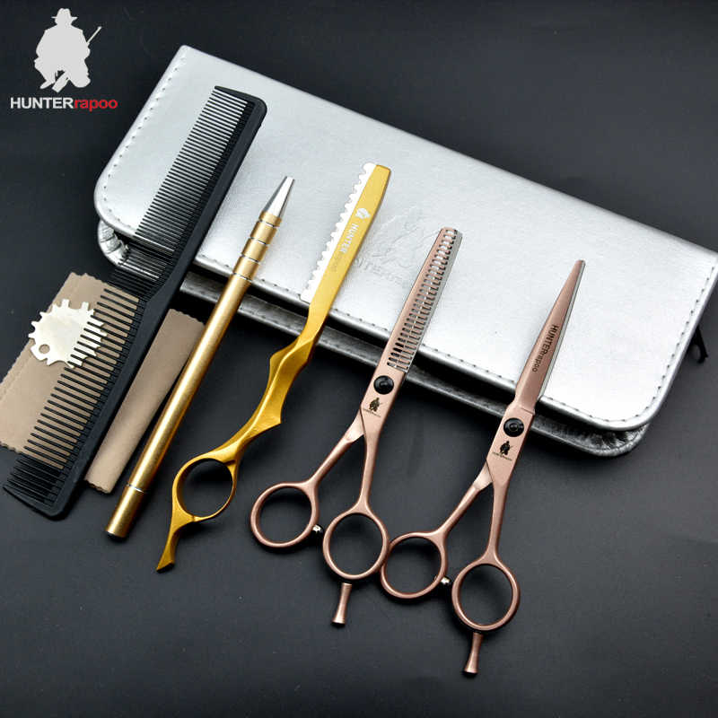 30% OFF 5.5 Inch Hairdressing Salons Scissors set Professional Japan Hair Scissors Hairdresser Cutting Thinning Barber Shears