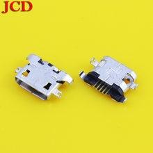 Jcd 20 шт 100% Новый micro usb разъем порт для зарядки Запасные