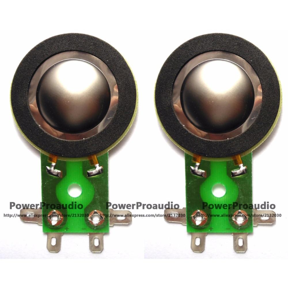 MACKIE THUMP 6912 2pcs Diaphragm Horn Tweeter for TAPCO 6925 8 ohm  Titanium
