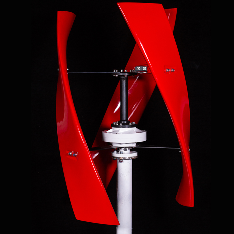 CE Bright Red Wind Turbine Generator Maglev Vertical Axis 600w Newest X Model or white wind turbine optionalCE Bright Red Wind Turbine Generator Maglev Vertical Axis 600w Newest X Model or white wind turbine optional