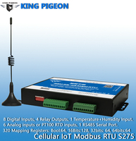 S275 GSM M2M RTU IOT устройство дистанционного управления оповещения сбора данных для базовый приемопередатчик станций Смарт метр PLC