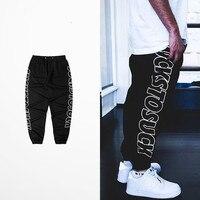 Original Tide Brand Casual Trousers Man Fashion Design Hip Hop High Street Men Pants Justin Bieber