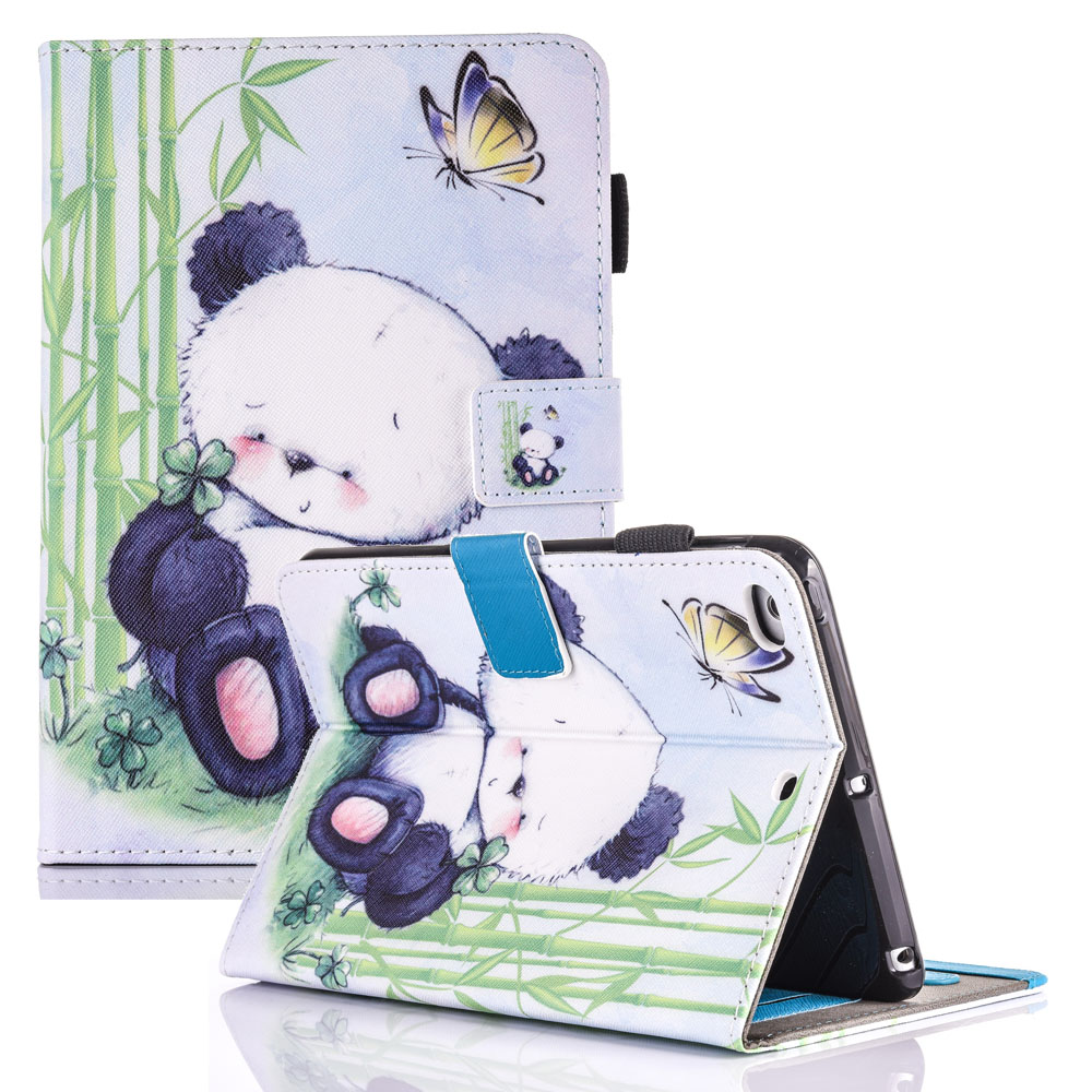 For Case Apple iPad Air 2 Cute Kids Gift Animal Prints PU Leather TPU Case Cover Stand Flip Kids Cover for iPad Air 2 Coque for apple ipad air 2 pu leather case luxury silk pattern stand smart cover