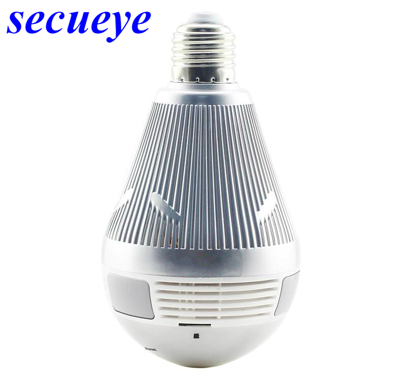 все цены на Secueye Bulb Light Wireless IP Camera Wifi Fisheye 960P/1080P/3MP 360 Degree VR CCTV Camera Home Security WiFi Camera Panoramic