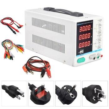 Новый 30 V 10A светодиодный Дисплей Регулируемый регулятор переключения DC Питание PS-3010DF ремонт ноутбуков паяльная зарядка через usb 110 v-220 v