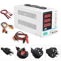 Nuevo 30 V 10A pantalla LED ajustable DC regulador de conmutación fuente de alimentación PS-3010DF portátil reparación Reparación de carga USB 110 v -220 v