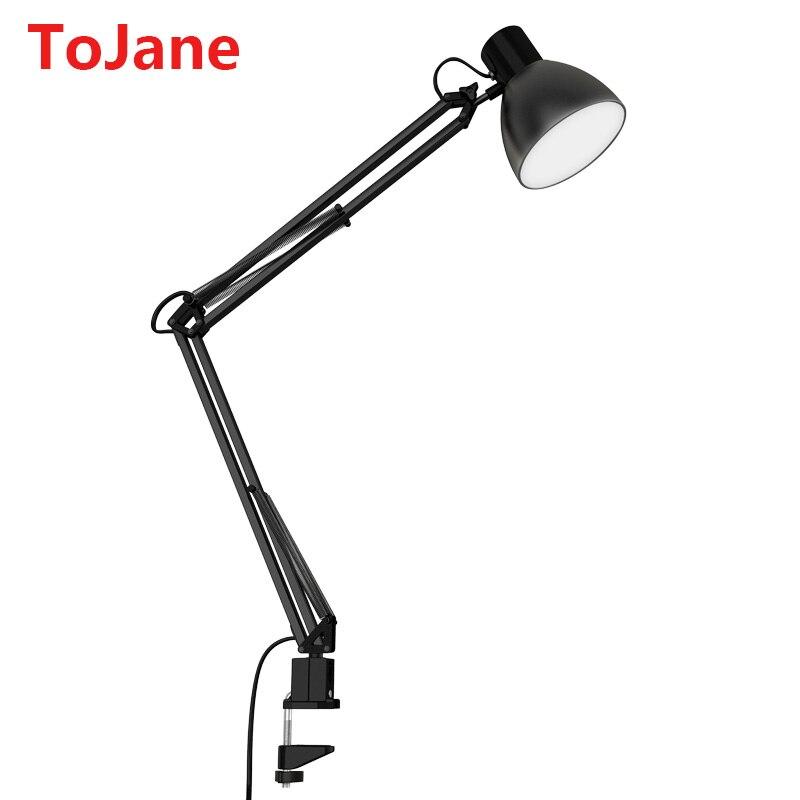 ToJane TG801 S Clip Desk Lamp Flexible Long Swing Arm Led Desk Lamp 6W Eye  Care Led Table Lamp Multi Joint Led Reading Light In Desk Lamps From Lights  ...