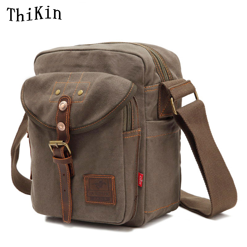Augur Multifunction Canvas Crossbody Messenger Bag Vintage Men Crossbody Bag Shoulder Bag with Large Capacity Travel Women Bag crossbody bowler bag