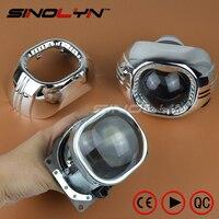 New Car External Lights 3 0 Inch Q5 H4 Bixenon Square Lens Projector HID Headlight Full