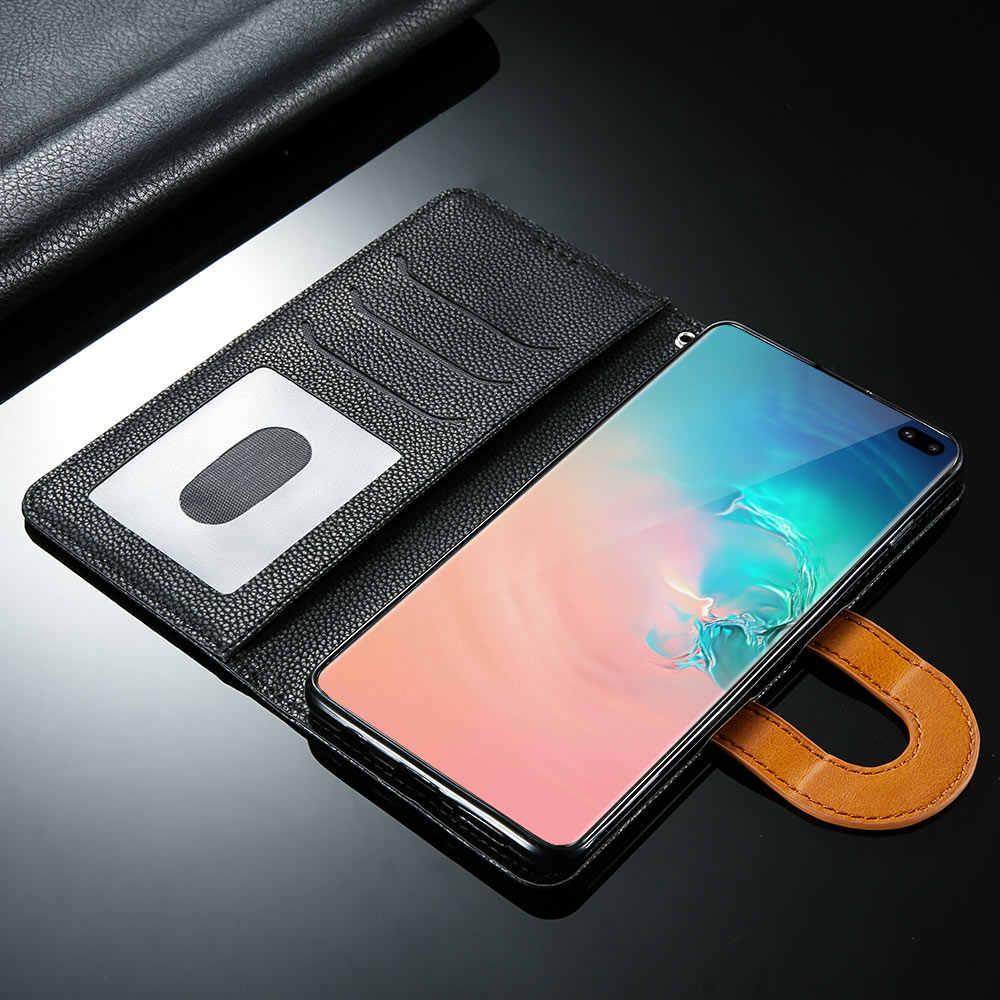 KISSCASE Винтаж кошелек кожаный чехол для samsung Galaxy Note 9 8 S10 плюс S10e S10 S9 плюс S9 A9 A8 плюс A8 A7 A6 плюс A6 2018