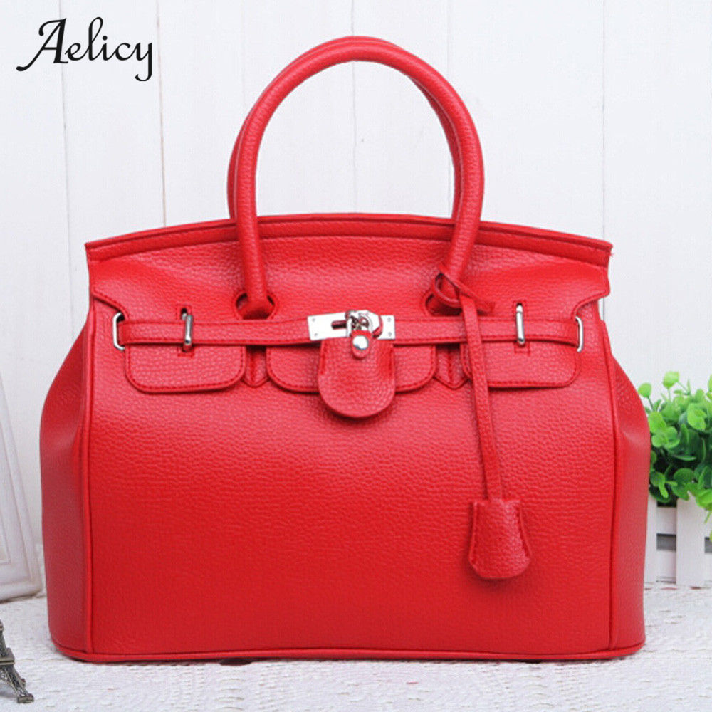 Aelicy pu leather bag female woman designer bags luxury high quality leather belt bag women casual tote crossbody bags for women
